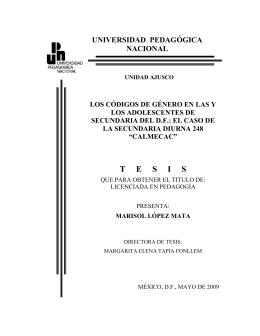 Calmecac - Biblioteca Gregorio Torres Quintero Universidad