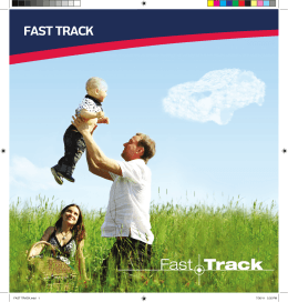FAST TRACK.indd 1 7/30/11 5:35 PM
