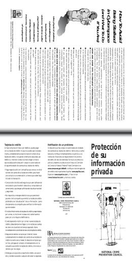 Protección de su información privada