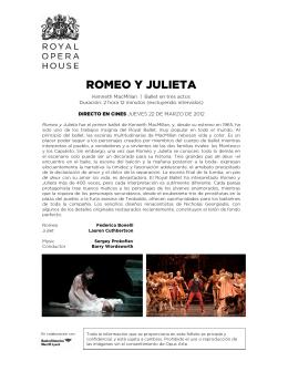 ROMEO Y JULIETA - Opera Cine Palafox