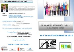 Descargue XII Jornadas Asociación A.D.H.I: El