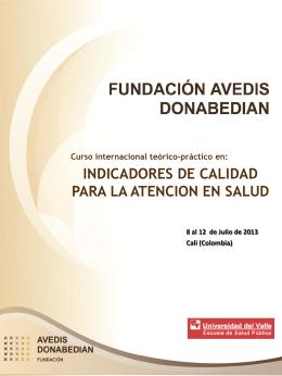 Presentación de PowerPoint - Fundación Avedis Donabedian
