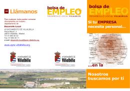 folleto informativo - Ayuntamiento Villalbilla