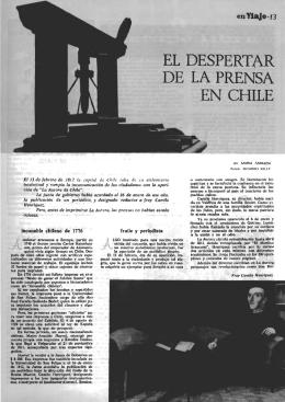 incunable chileno de 1776 fraile y periodista
