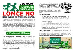 LOMCE NO - CGT Murcia