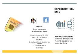 folleto dni-e[1].pub - Ayuntamiento de Montalbán