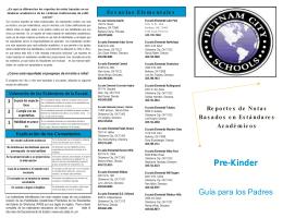 Pre-Kinder - Putnam City Schools