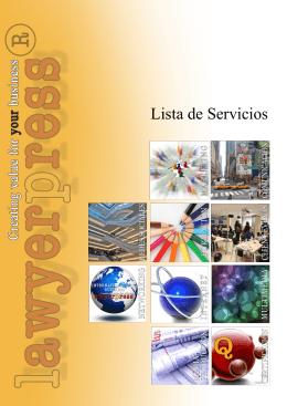 Lista de Servicios