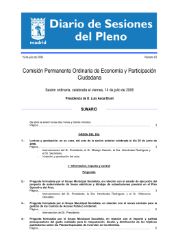 Diario de Sesiones 14/07/2006