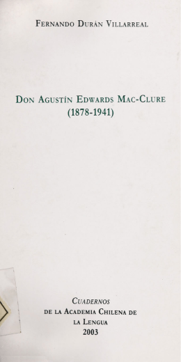 on Agustín Edwards Mac
