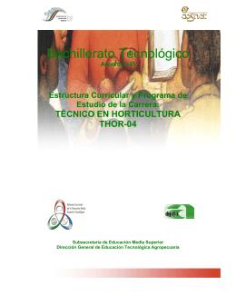 Bachillerato Tecnológico - Secretaría de Educación Pública