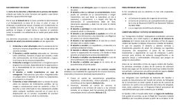 SUS DERECHOS Y SU SALUD La Carta de los derechos
