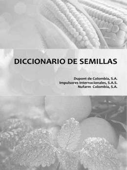 DICCIONARIO DE SEMILLAS