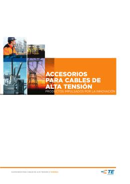 ACCESORIOS PARA CABLES DE ALTA TENSIÓN