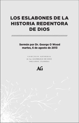 LOS ESLABONES DE LA HISTORIA REDENTORA DE DIOS