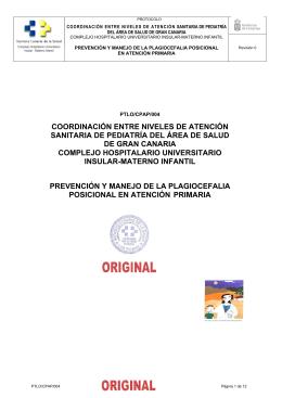 coordinación entre niveles de atención sanitaria de pediatría del