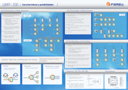 UMF-100 Caracteristicas y posibilidades