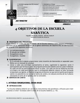 Programas de Escuela Sabatica UIO (2T2015)