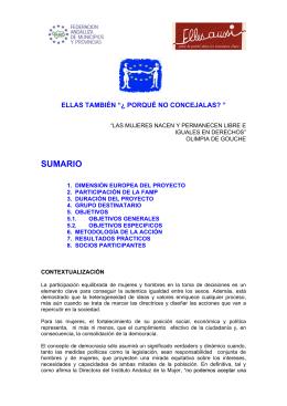 ellas también - Federación Andaluza de Municipios y Provincias