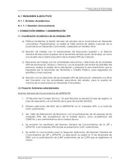 Resumen ejecutivo  - Portal de transparencia de la