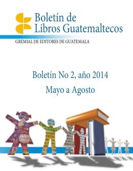 Boletín de Libros Guatemaltecos - Feria Internacional del Libro de