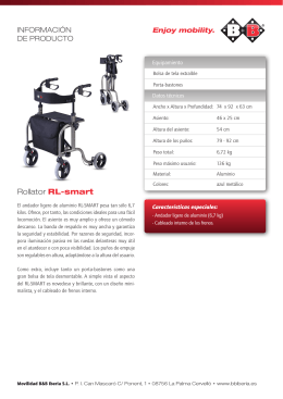 folleto rollator sl-smart