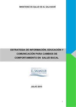 estrategia de información, educación y comunicación para cambios