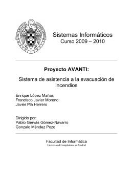 Sistemas Informáticos - E-Prints Complutense
