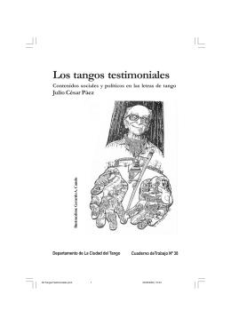 Julio César Páez - Los tangos testimoniales