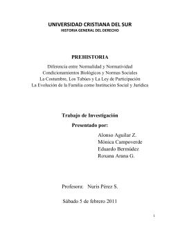 prehistoria - ucsderecho
