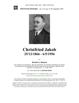 Christfried Jakob (25/12/1866 – 6/5/1956)