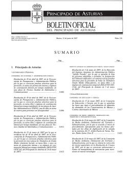 BOLETINOFICIAL - Gobierno del principado de Asturias