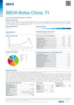 BBVA Bolsa China, FI - BBVA Asset Management