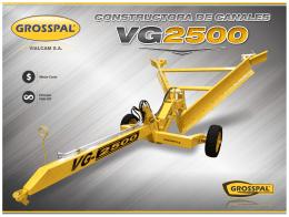Constructora de Canales Zanjadora VG 2500