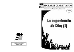 La experiencia de Dios - seglaresclaretianos.org