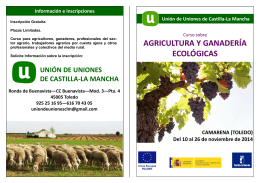 Plantilla Folleto Agricultura Ecológica.pub