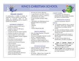 KING`S CHRISTIAN SCHOOL