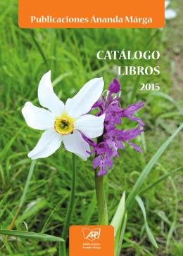 Catálogo libros - Editorial Ananda Marga