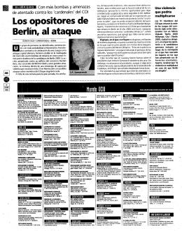 de Berlín, al ataque-