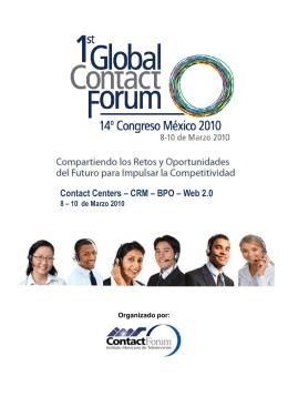 Documento Promocional Global ContactForum