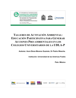 Full Text - Agenda Ambiental de la UASLP