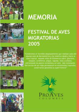 Festival de Aves Migratorias 2005