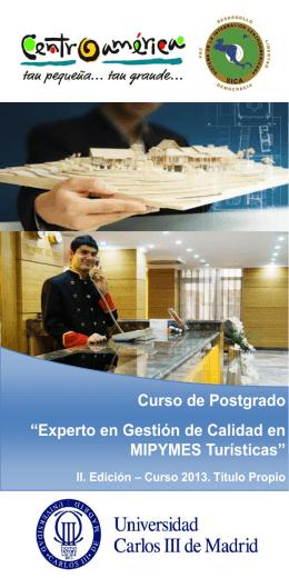 Folleto Informativo - Dirección de Cooperación Externa