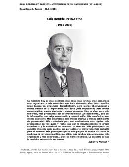 Raúl Rodríguez Barrios - Sindicato Médico del Uruguay