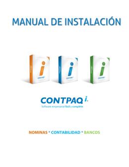 Manual de Instalación CONTPAQ i®