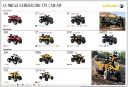 LA NUEVA GENERACIÓN ATV CAN-AM