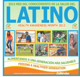 2013 mes del conocimiento de la salud del HealtH awareness