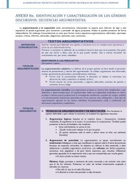 ANEXO 8e IDENTIFICACIÓN Y CARACTERIZACIÓN DE LAS