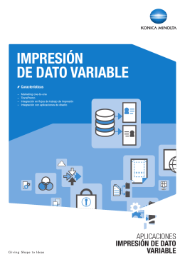 IMPRESIÓN DE DATO VARIABLE
