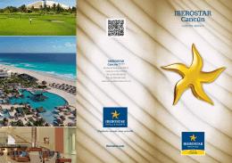 Folleto IBEROSTAR Cancún - Centro de Convenciones Península
